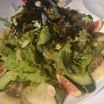 ディアンドデパートメント フクオカ - 糸島野菜のサラダ