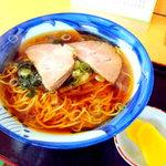 三藤 - 料理写真:正油ラーメン 550円