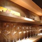 ワインバー・イゾラ - ISOLA wine glasses