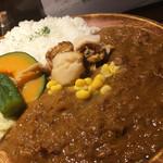 ブルックスカレー食堂 - 産地直送 活ホタテとバターのカレー