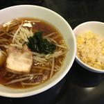 大龍 - ラーメン+半チャーハン 500円