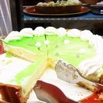 スイーツパラダイス - 昔懐かしいクリームソーダのケーキ