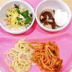 スイーツパラダイス - パスタお代わり♪ ちらし寿司・わらび餅
