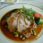 5544371 - 豚肉のソテー_ラグラース