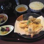 まる兆 - 天ぷら定食