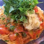 堺筋倶楽部 AMBROSIA - 鱧の冷製フレッシュトマトのカッペリーニ☆ 冷たく美味しい〜♫幸せでっす☆