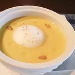 きた川 - 南瓜と豆乳の冷製スープ