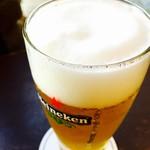 55444090 - ハイネケン‼︎冷たい生ビールが堪りません♪