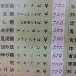 龍鳳 - メニューアップ