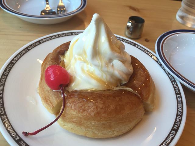 コメダ珈琲店 浅草橋駅前店 - ミニシロノワール 400円