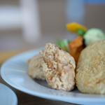 エコトコファーマーズカフェ - 炸鶏肉(とりからあげ)