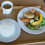 エコトコファーマーズカフェ - 晝定食(ひるていしよく)