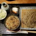 薬院 なかむら - 炊き込みご飯とお蕎麦