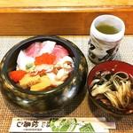 松寿司 - ちらし寿し(並) 1,000円。 美味しかった(^_^)☆