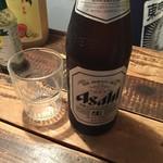 東京 三軒茶屋 ラヂオ焼き - ビール@500円