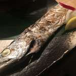 磯一 新大阪店 - 衝撃的な太刀魚の塩焼 激うま