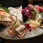 磯一 新大阪店 - 鮮度のいい輝く盛り