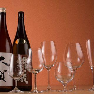 《日本酒》美肌・健康に日本が誇るお酒半合450円均一