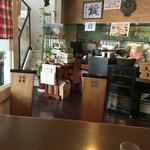 洋風パスタ アテンダント - まさに喫茶店の雰囲気