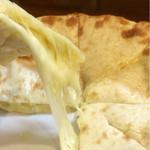 ナマスカール - のびるチーズの図