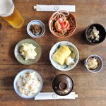 常衛門食堂 - 昼食 アラカルト