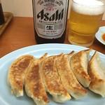 マリモ - 残業メシは駅前のラーメン屋で餃子とビール