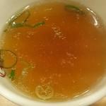 大阪王将 - 大阪王将 チャーハンについてくるスープ fromグリーンロール