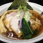 55457538 - 淡口醤油拉麺(税込730円)