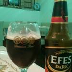 KONYA - トルコのビール       エフェス       限定の黒ビールを