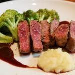 ワインと炭火焼 harao - 三重 伊賀産 鹿肉 外もも肉
