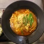55458325 - 2016年7月 選べる麺セット(ユッケジャンラーメン) 1404円