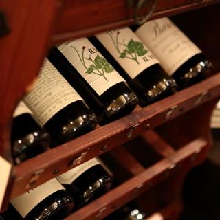 自然派ワインを多数ご用意!
