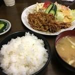 北京食堂 - 焼肉定食(税込700円、2016年8月)