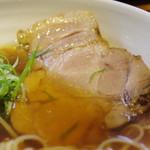 ラーメン巌哲 - 肉