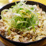 ラーメン巌哲 - 豚マヨ丼