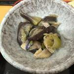 55463547 - 小鉢な茄子の煮物