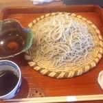 木むら - 天ざる蕎麦