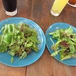 ゑんぞ - グリーンサラダ