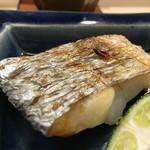 日本橋蛎殻町 すぎた - 2016/8_太刀魚塩焼き