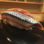 日本橋蛎殻町 すぎた - 2016/8_秋刀魚