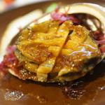 北貝料理 なむら別邸 - あわびステーキ