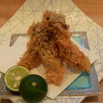 料理 吉祥寺 わるつ - 松茸のフライ