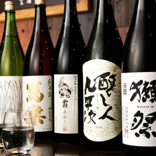 魚と日本酒の相性を愉しむ