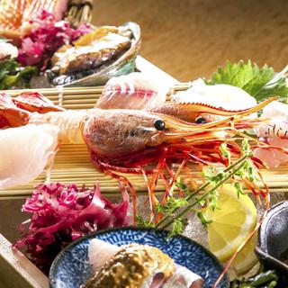 鮮度にこだわった鮮魚