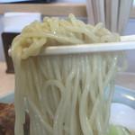 おおむら亭 - 麺 リフトアップ
