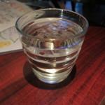 55484941 - お水もほんのり柑橘系の風味!
