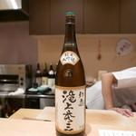 ぎをん 遠藤 - 16年7月 滝上秀三(純米大吟醸)