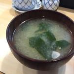 蛇の新 - 160901 味噌汁(ランチ)
