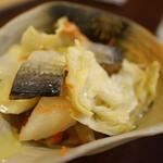天ぷら 天八 - ニシン漬け