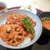 天婦羅 あら井 - 料理写真:かき揚げ天丼セット